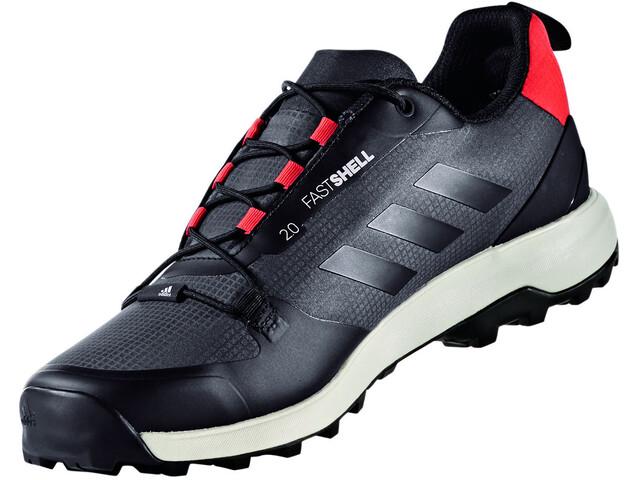 79d639626 adidas TERREX Fastshell Low Shoes Men utility blackcore black/energy ...